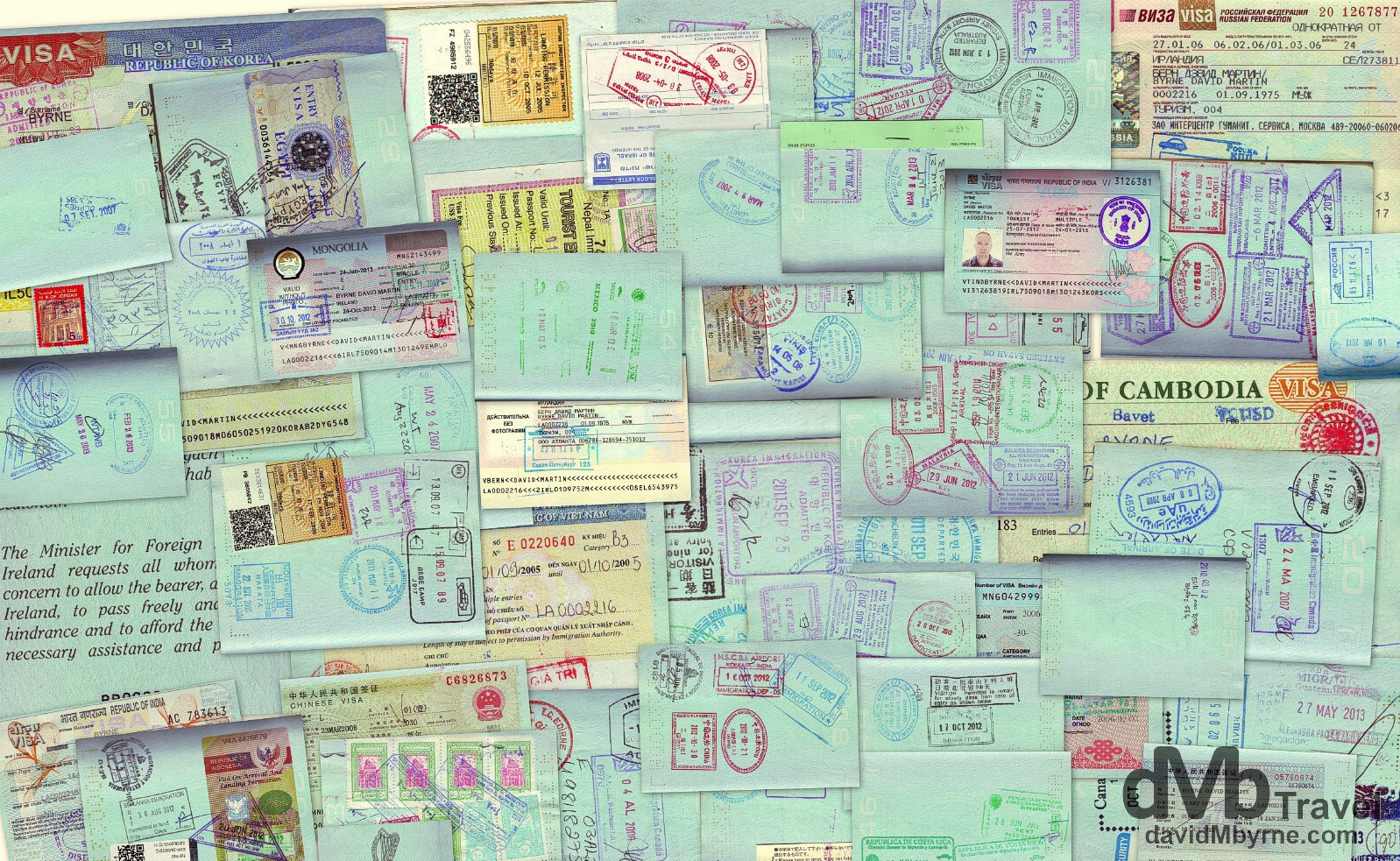 Eight Years Of Passport Visas