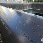 The 9/11 Memorial, lower Manhattan, New York. July 14th 2013.