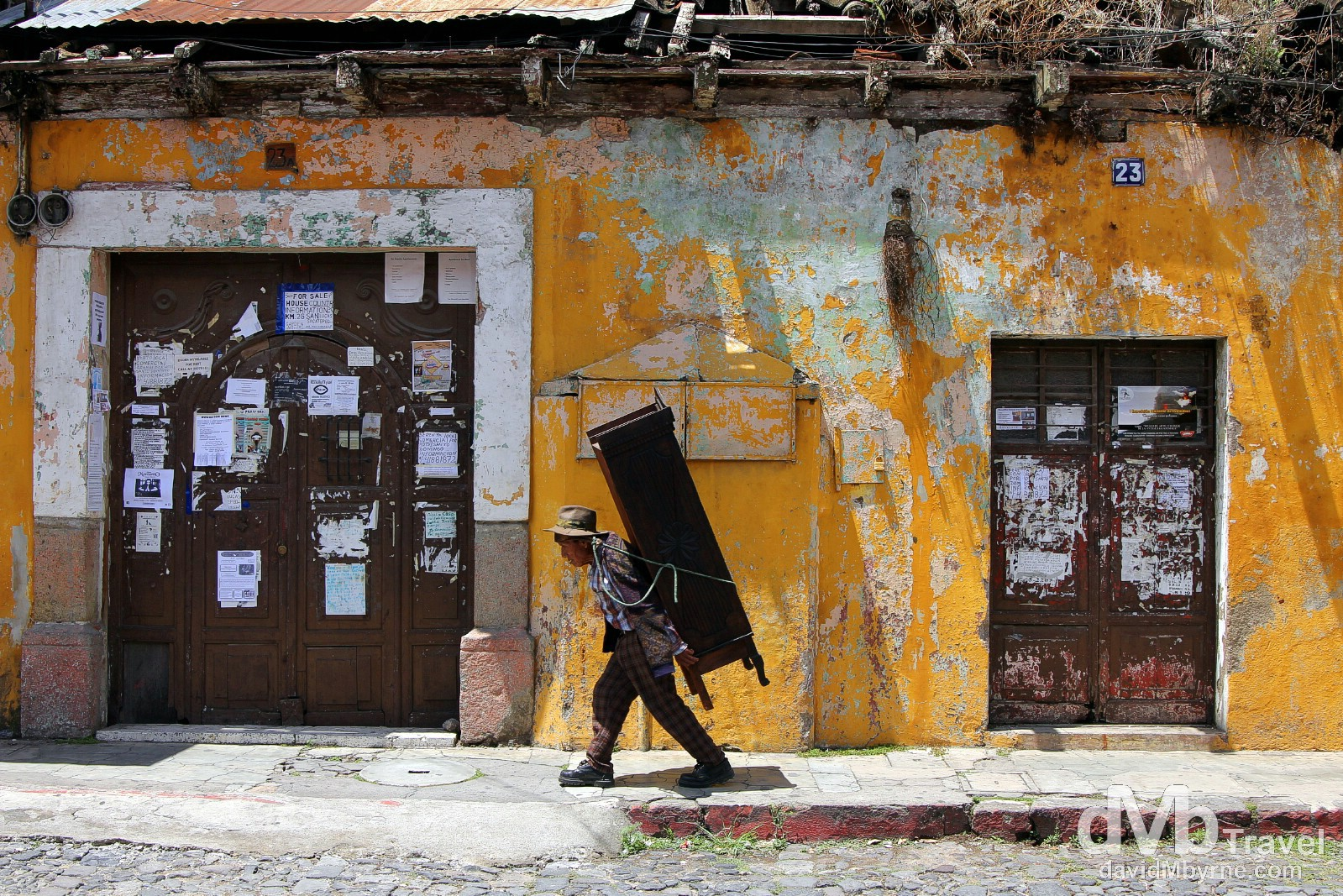 Delivery not included. Antigua, Guatemala. May 25th 2013.