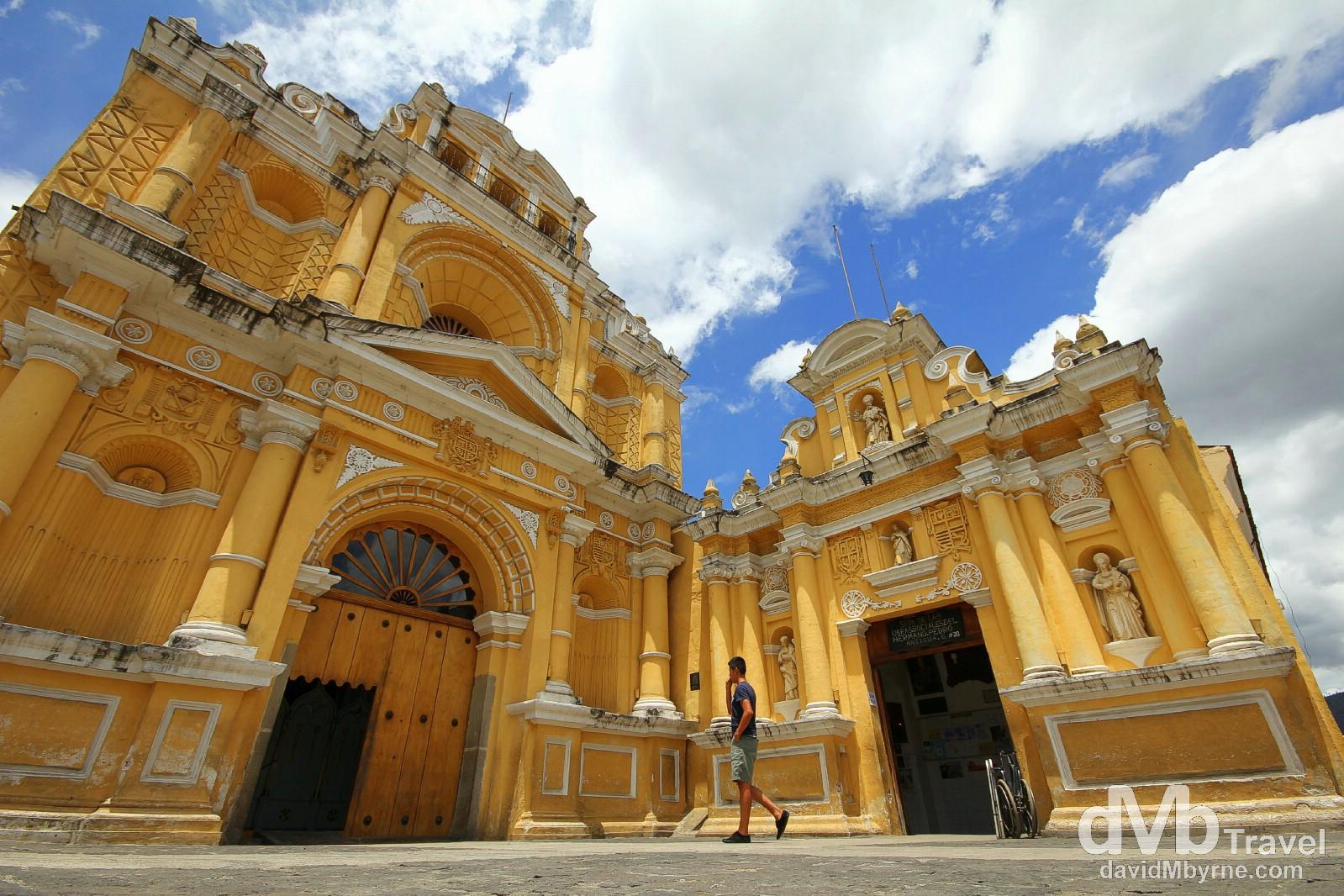 Iglesia De Hermano Pedro. Antigua, Guatemala. May 25th 2013.