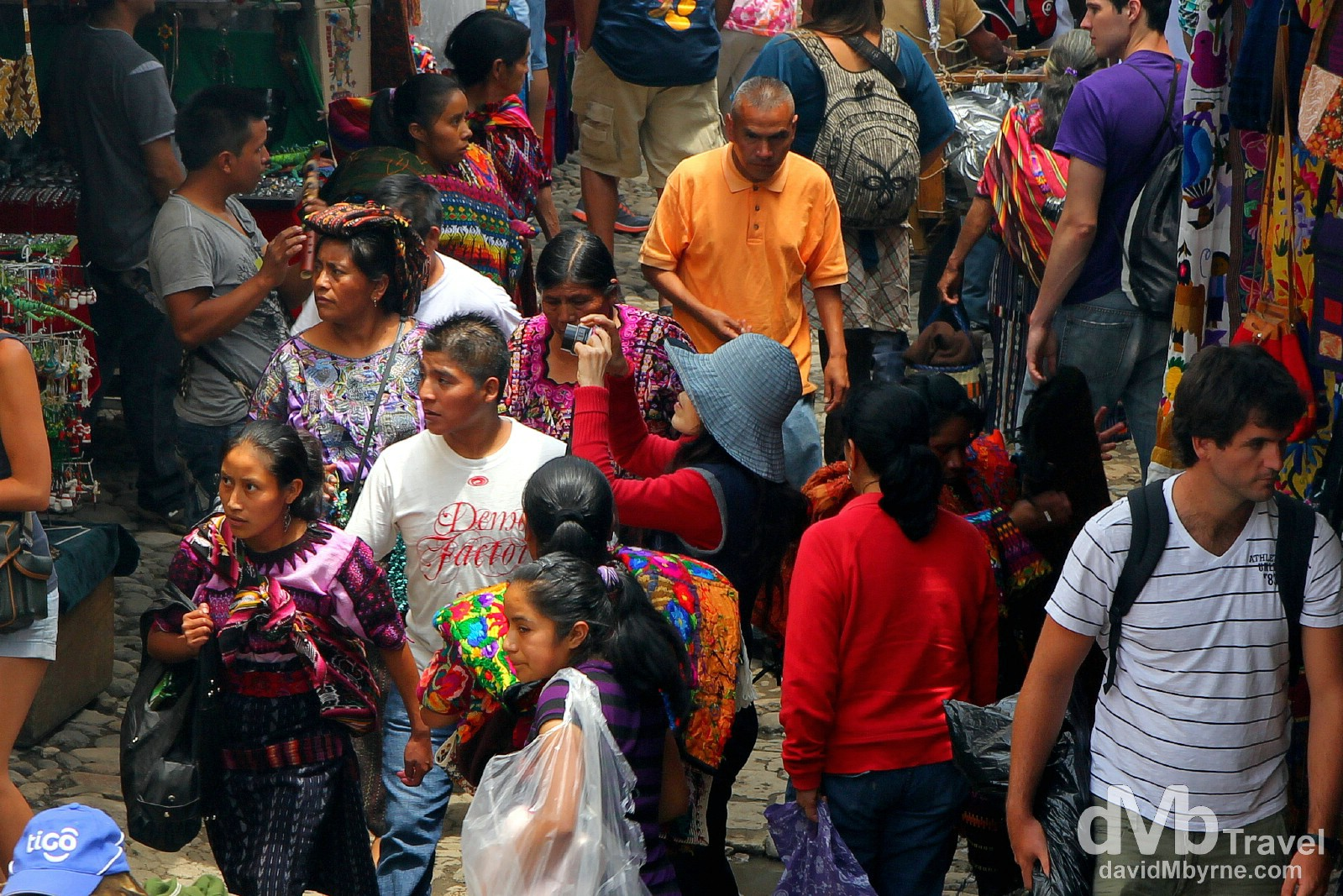 Market day in Chichicastenango (Chichi), Guatemala. May 23rd 2013.