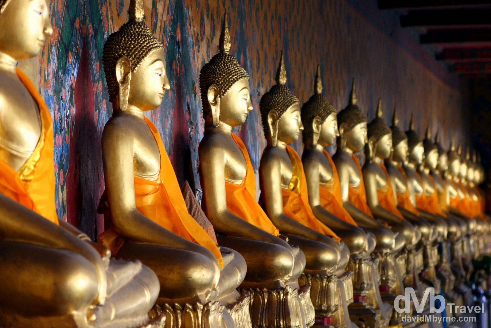 Buddhas in Wat Arun, Bangkok, Thailand. March 7th 2012.