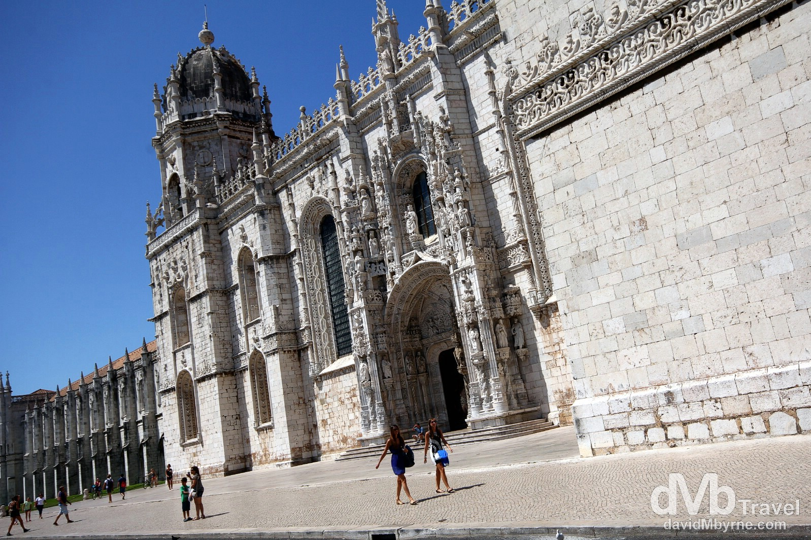 Jeronimos Monastery, Belem, Lisbon, Portugal. August 26th 2013.