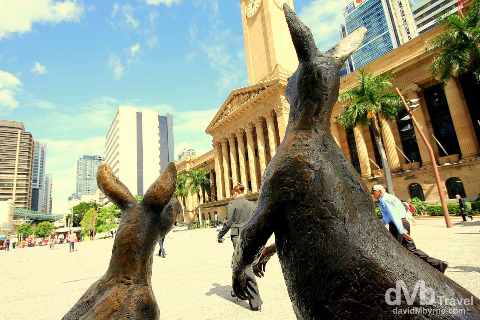 King George Square, Brisbane, Queensland, Australia. April 13th 2012.