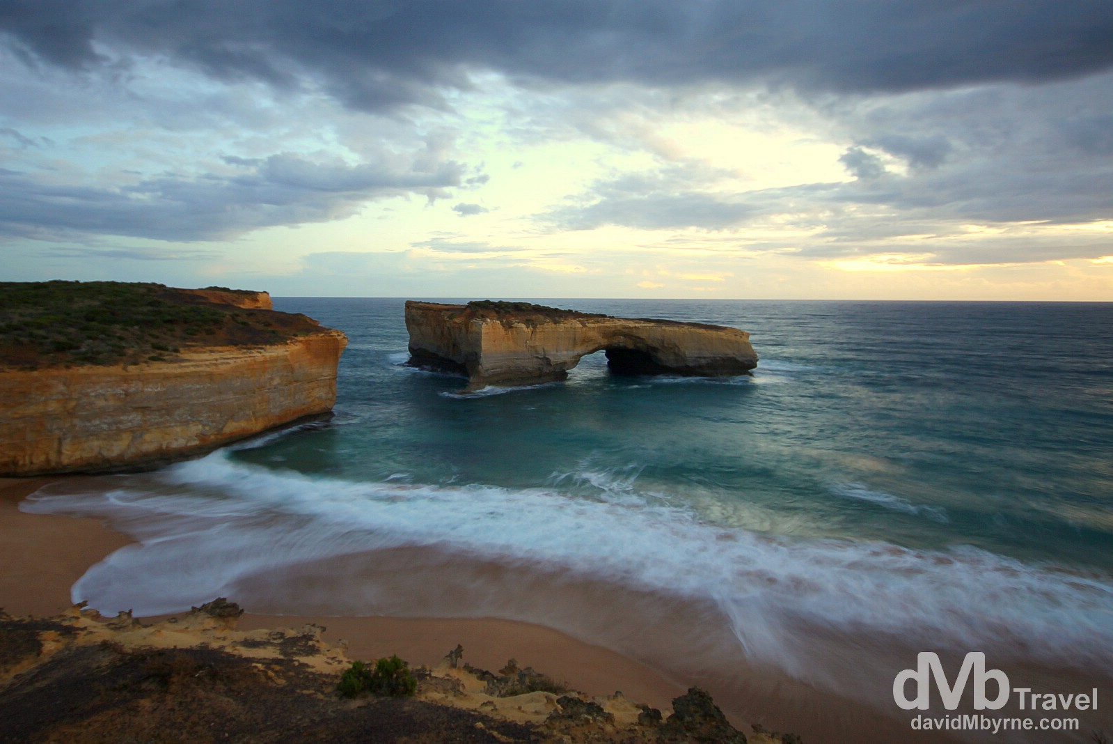 London Arch, Port Campbell National Park, the Great Ocean Road, Victoria, Australia. April 22nd 2012.