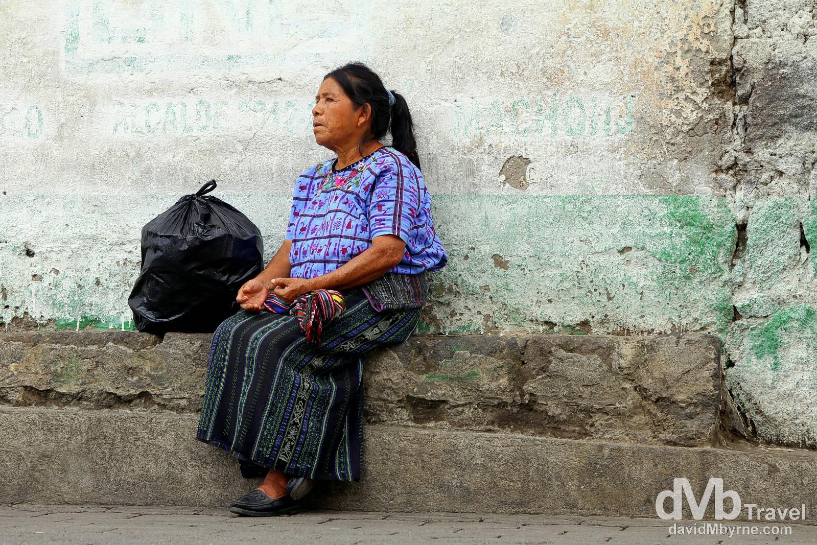 Santiago Atitlan, Guatemala. May 24th 2013.