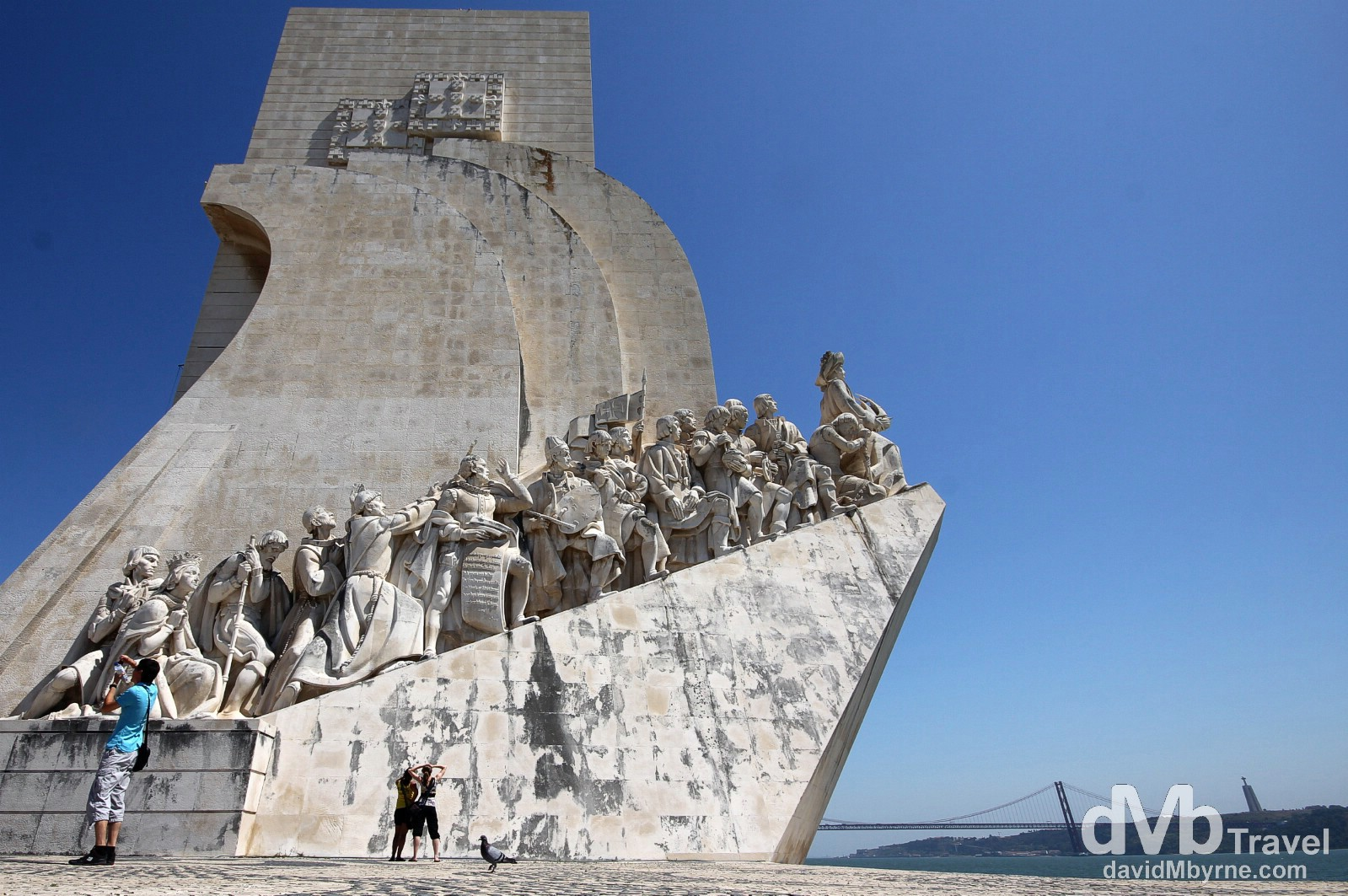 Monument To The Discoveries, Belem, Lisbon, Portugal. August 26th 2013.