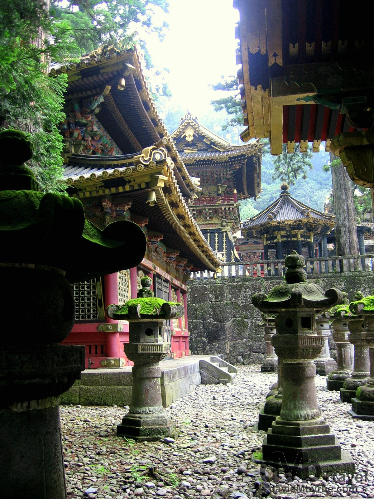 A section of the Tosho-gu Temple in Nikko, Tochigi Prefecture, Japan. July 17th 2005.