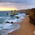 The Twelve Apostles of Port Campbell National Park, the Great Ocean Road, Victoria, Australia. April 22nd 2012.