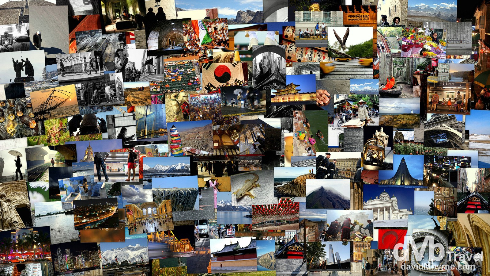 A Decade of Travel Photography - 204 pictures from 41 countries on 5 continents.