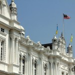 City Hall, George Town, Penang, Malaysia. March 24th 2012.