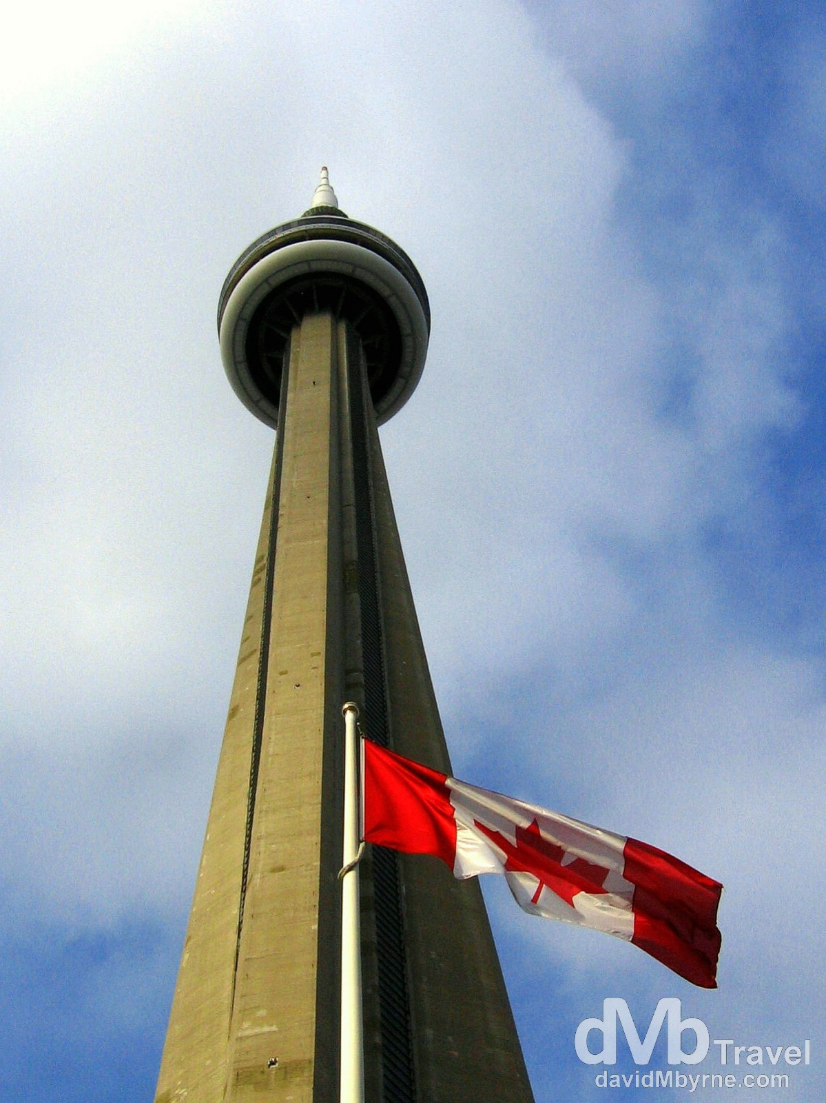 The CN Tower, Downtown, Toronto, Canada. December 5th 2005.