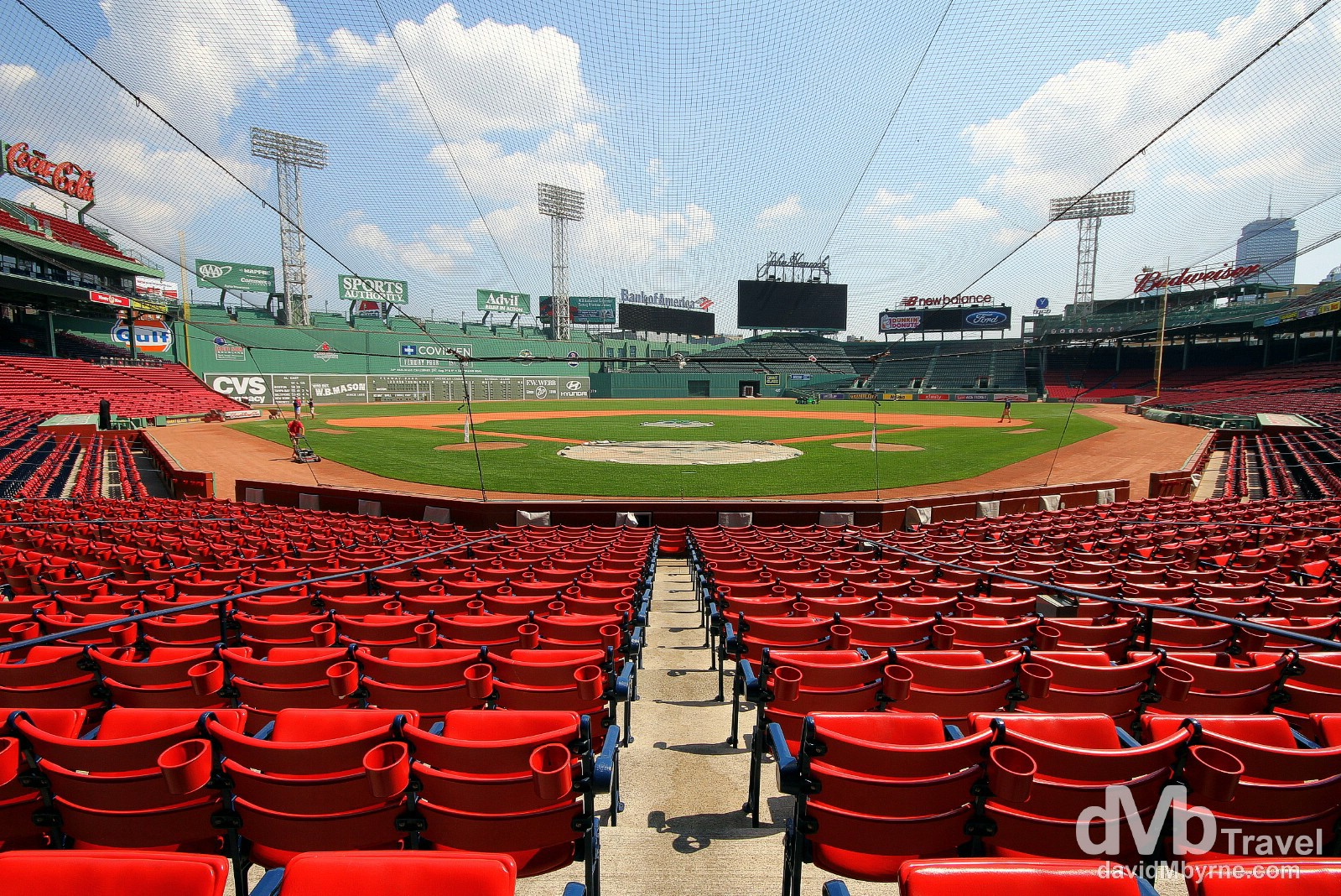 Fenway Park, Fenway, Boston, Massachusetts, USA. July 17th 2013.