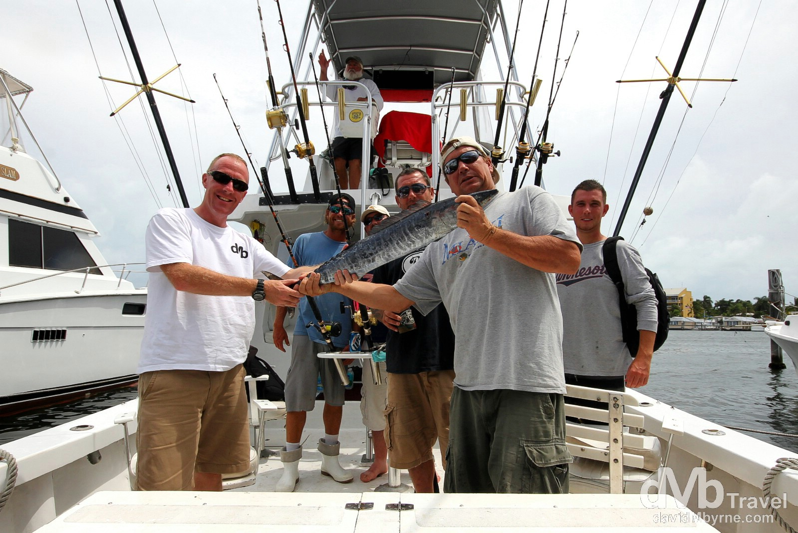 A fruitful days fishing off the Florida Keys. Key West, Florida, USA. July 5th 2013.