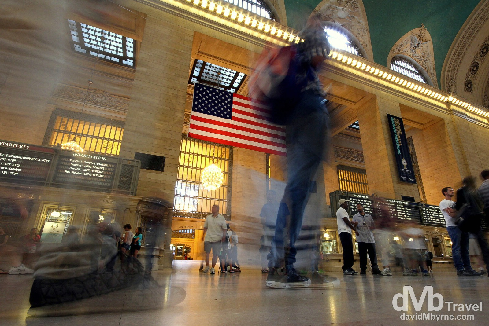 Grand Central Station/Terminal, New York City, USA. July 13th 2013.