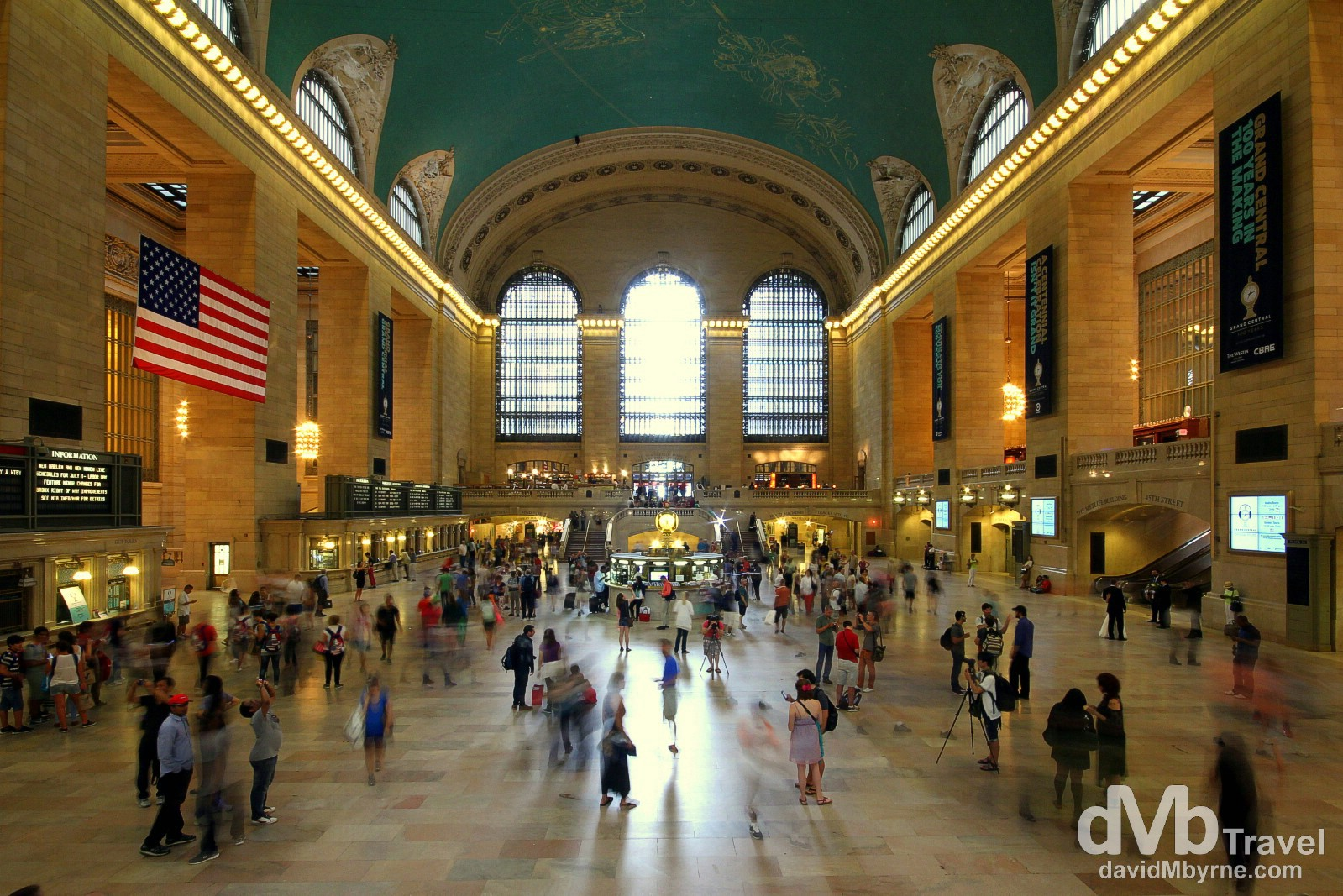 The Main Concourse of Grand Central Station/Terminal, New York City, USA. July 13th 2013.