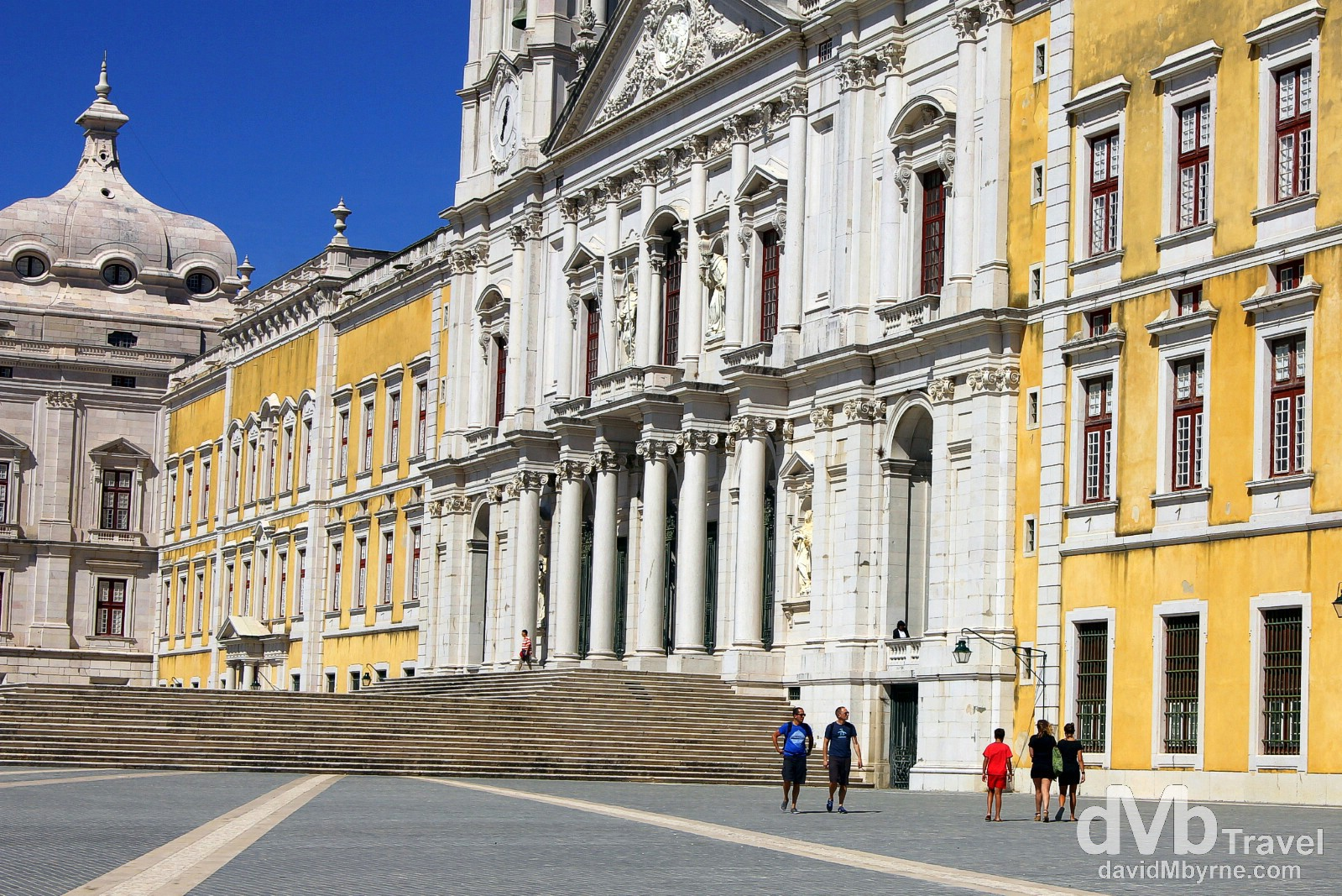 The Palacio Nacional de Mafra (Mafra National Palace), Mafra, Portugal. August 23rd 2013.