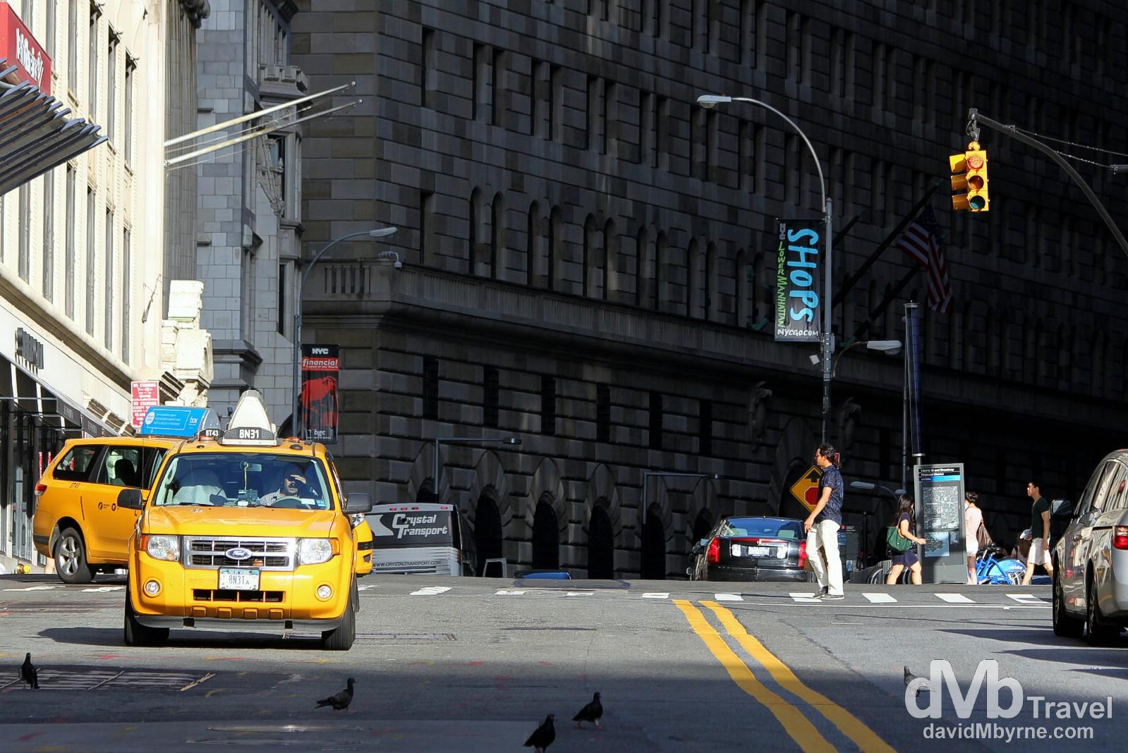 Lower Manhattan, New York. July 14th 2013.