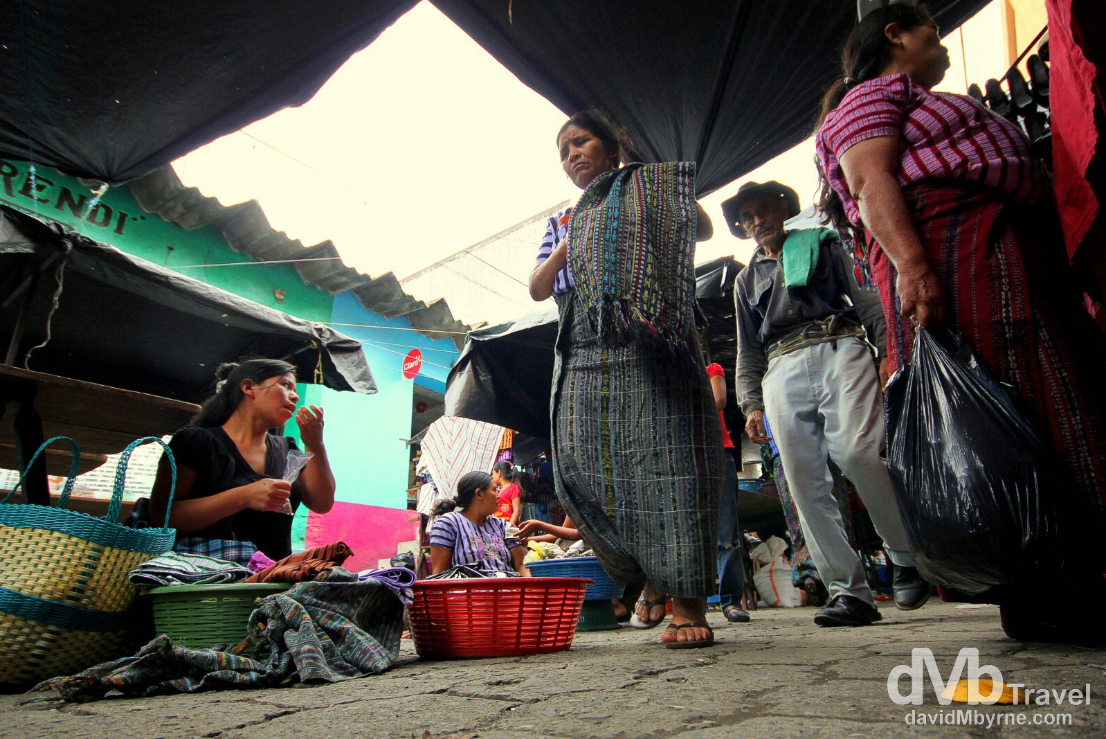 Market day in Santiago Atitlan, Guatemala. May 24th 2013.