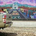 Murals on the streets of Ataco, western El Salvador. June 2nd 2013