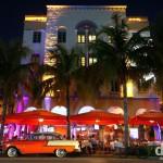 Ocean Drive, Miami, Florida, USA. July 8th, 2013.