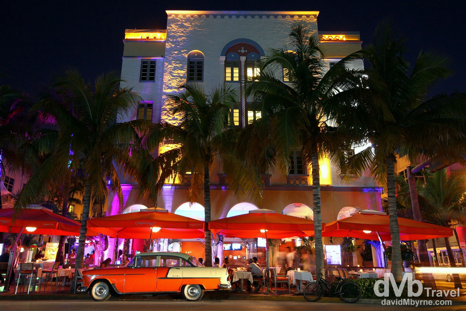 Ocean Drive, Miami, Florida. July 8th 2013.