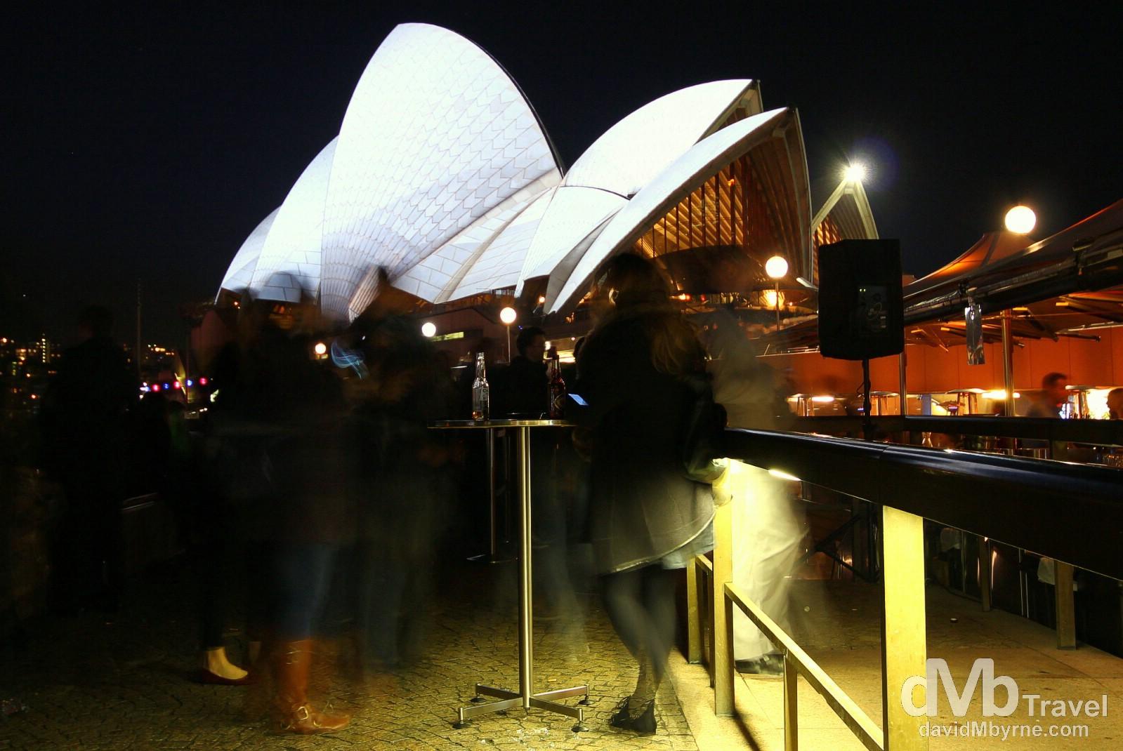 Opera Quays, Sydney, Australia. June 8th 2012.