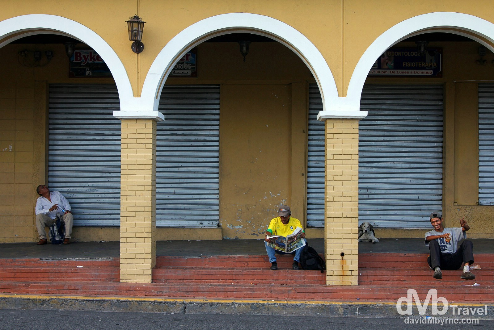 On the streets of San Salvador, El Salvador, Central America. June 3rd 2013.