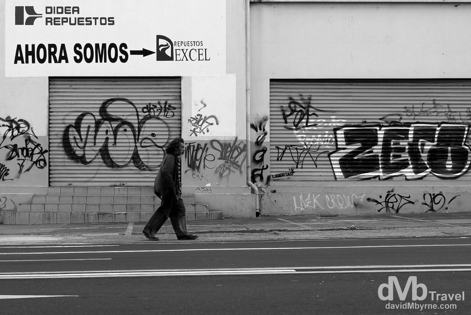 On the streets of San Salvador, El Salvador, Central America. June 3rd 2013