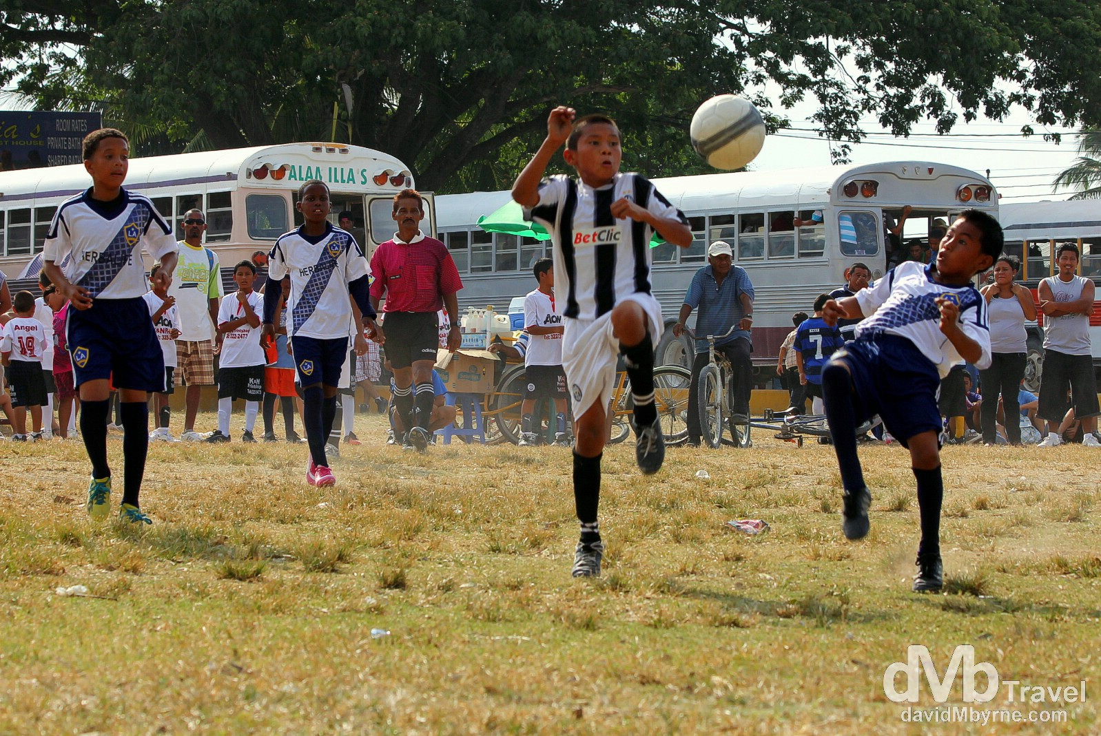 Soccer, Orange Walk, Belize. May 10th 2013.