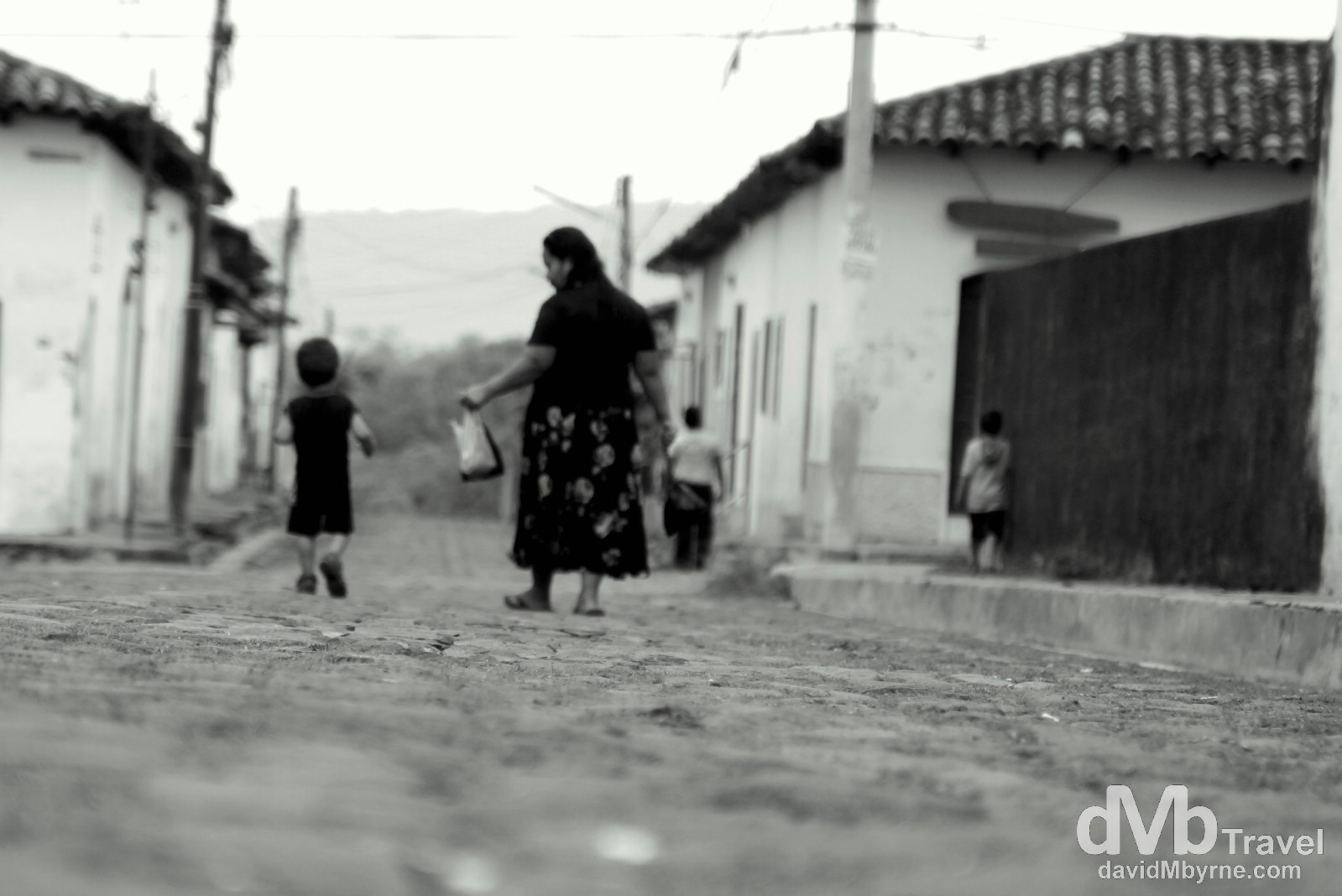 On the streets of Suchitoto, El Salvador. June 4th 2013.