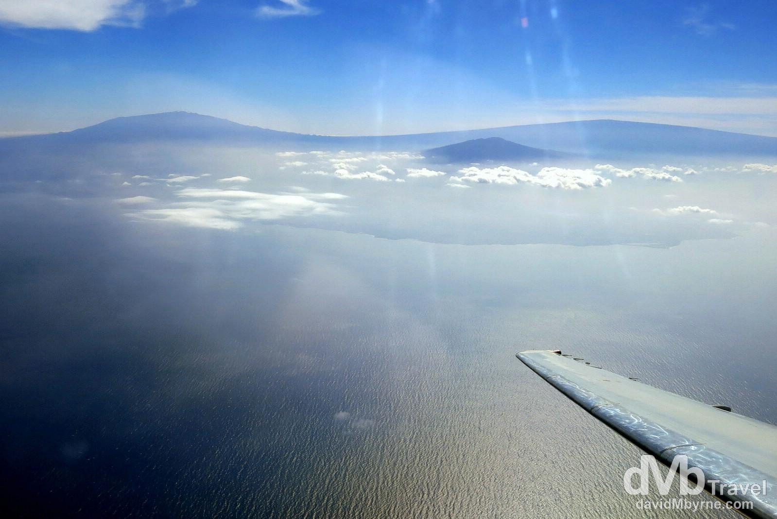 Big Island To Maui  Hawaii  Usa