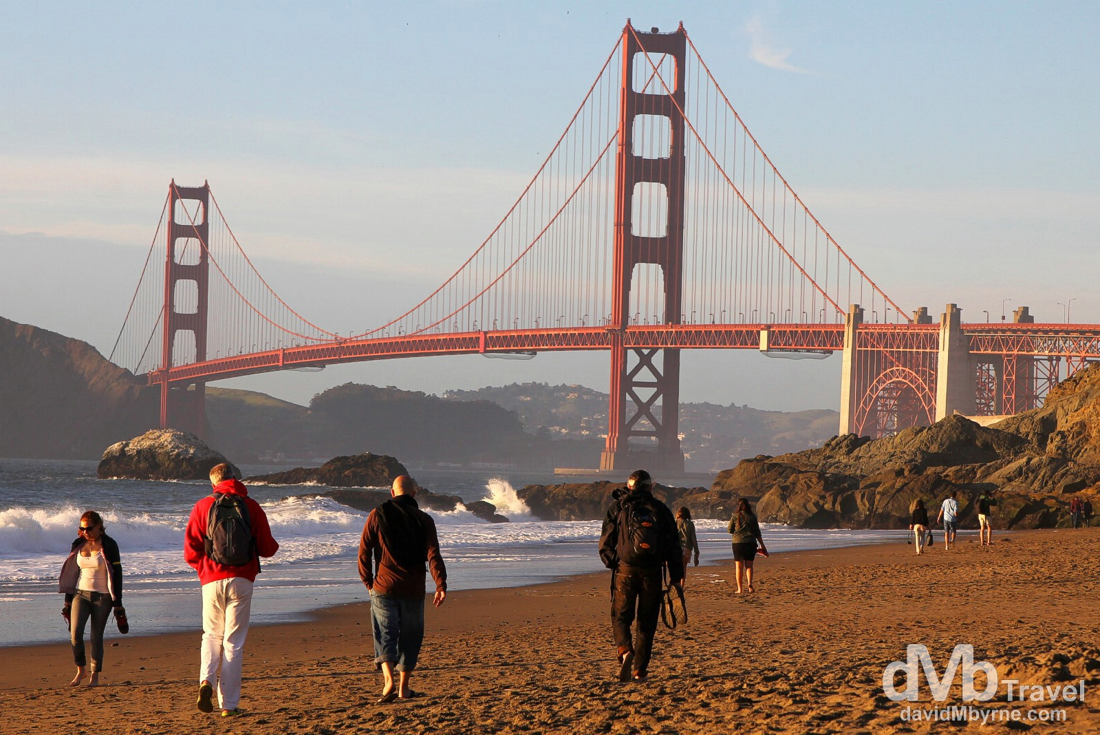 Baker Beach, San Francisco, California, USA. April 10th 2013.
