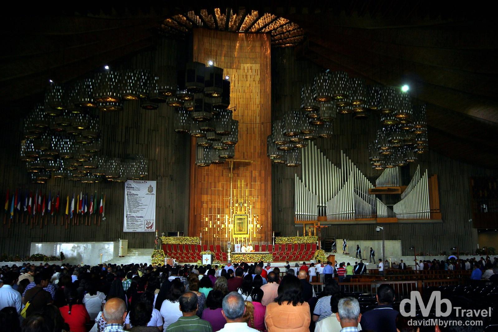 Basilica de Nuestra Senora de Guadalupe, Mexico City