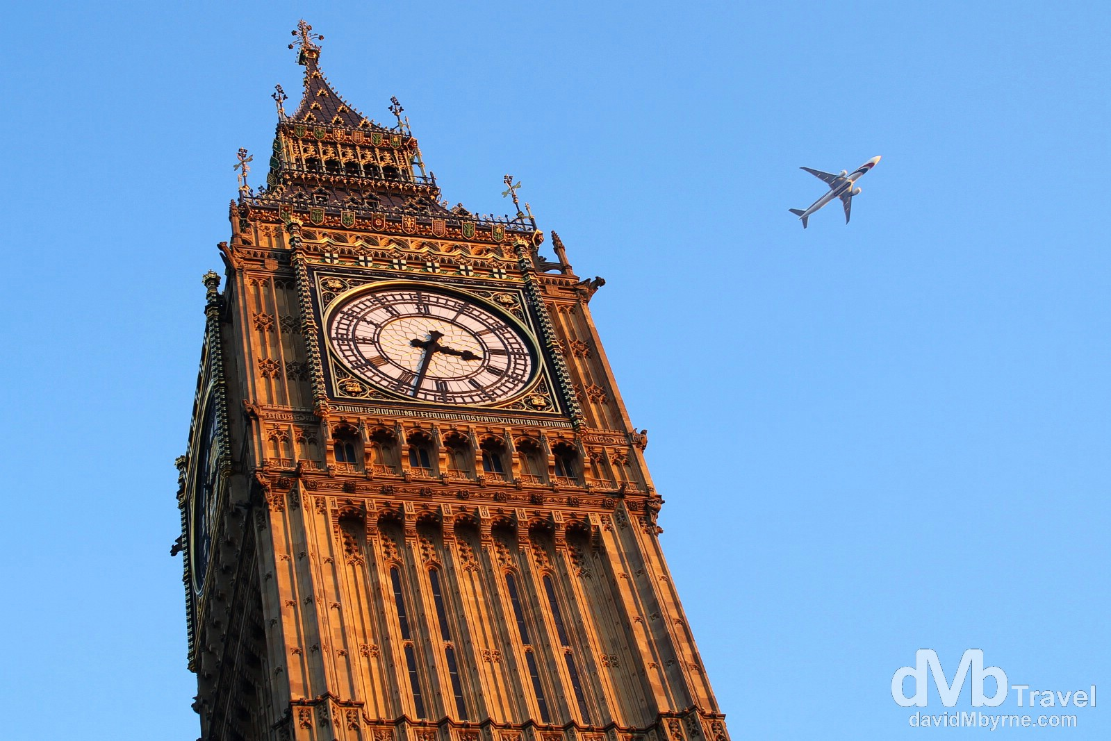 Big Ben, Westminster, London, England. December 8th 2012.