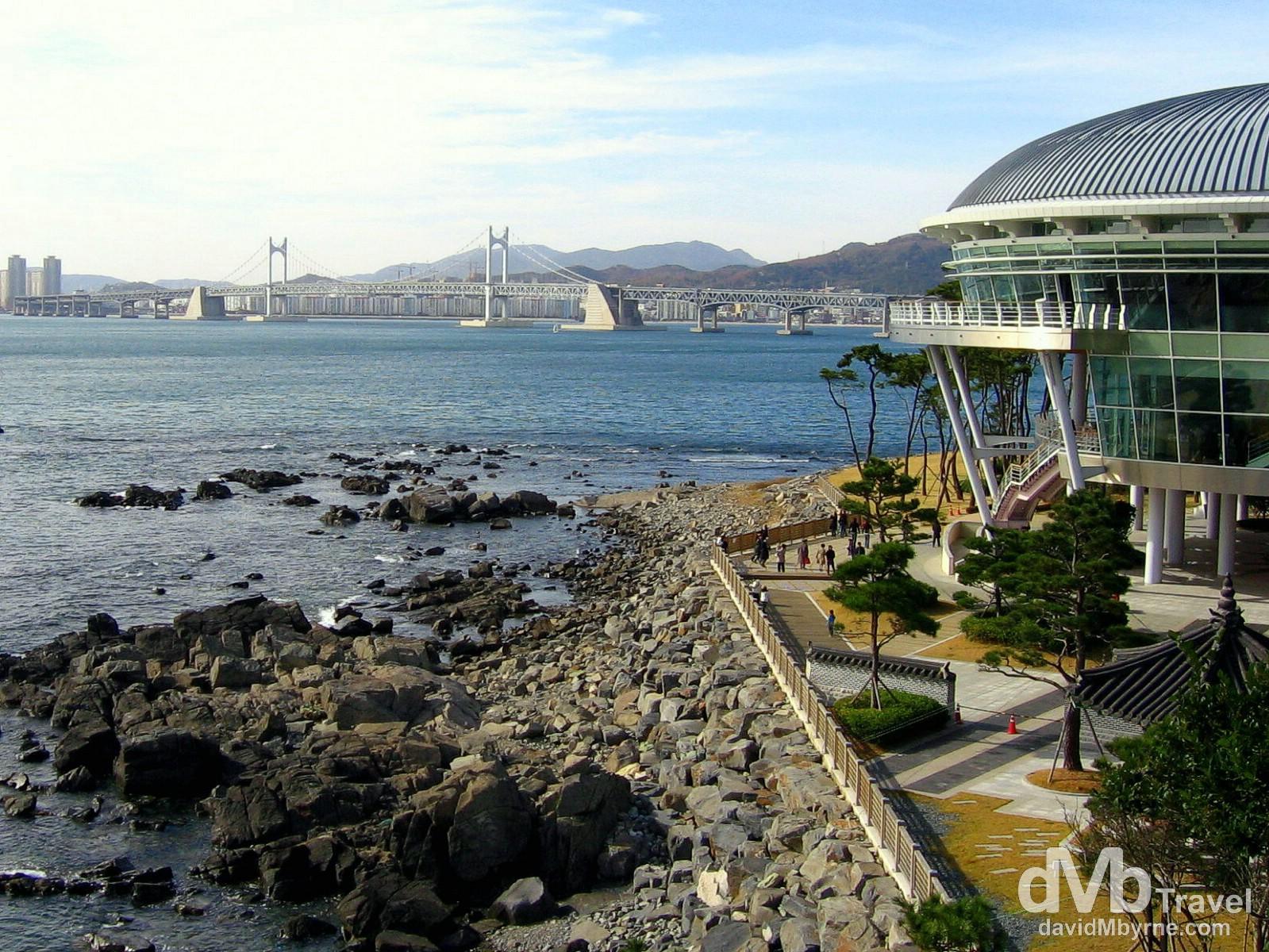 Nurimaru, Dongbaek Island, Busan, South Korea. November 18th, 2007.