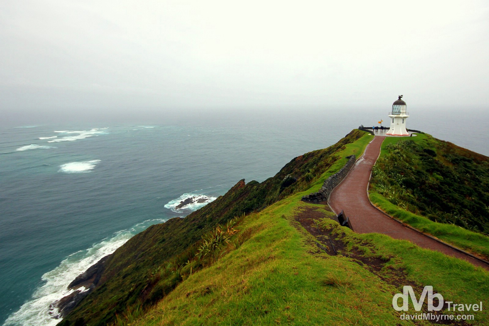 Cape Reinga, North Island, New Zealand. April 30th 2012.