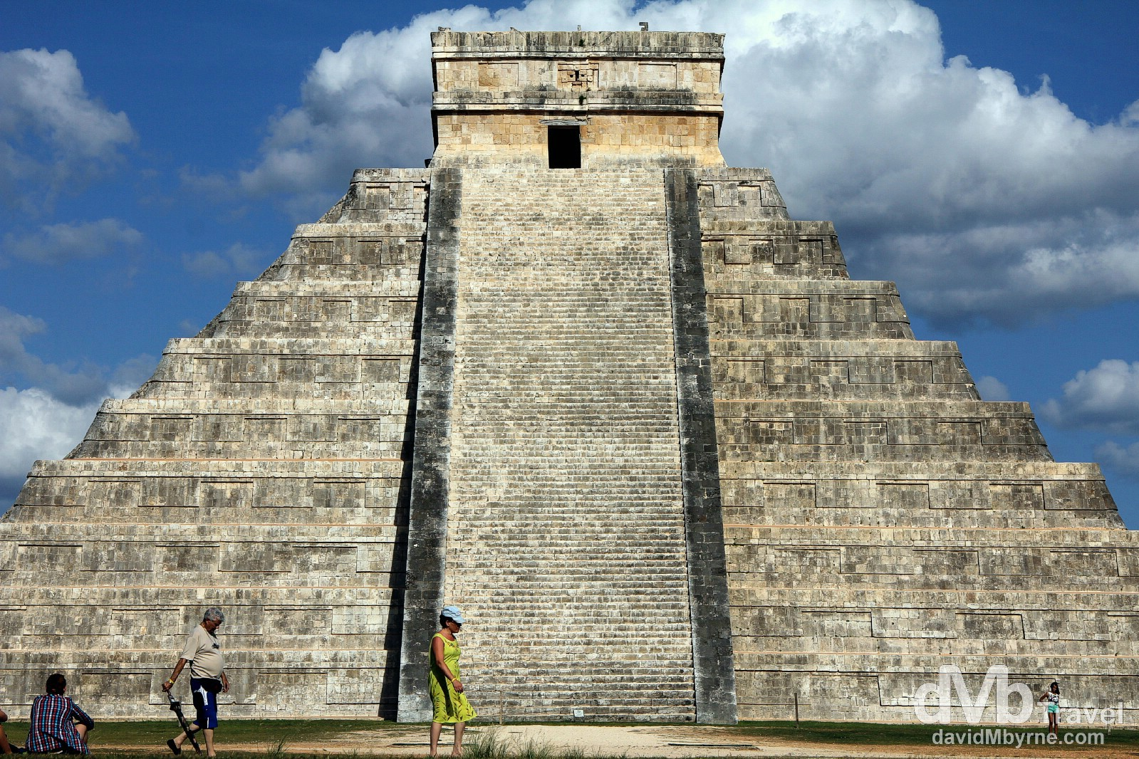 El Castillo / Pyramid of Kukulcan, Chichén Itzá, Yucatán Peninsula, Mexico. May 3rd 2013.