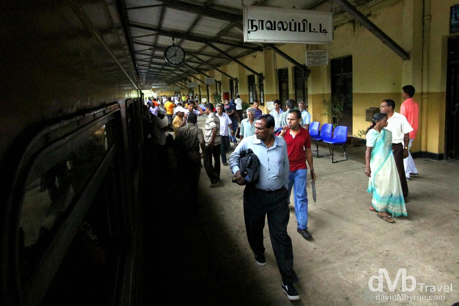 En route to Kandy in central Sri Lanka. September 7th 2012.