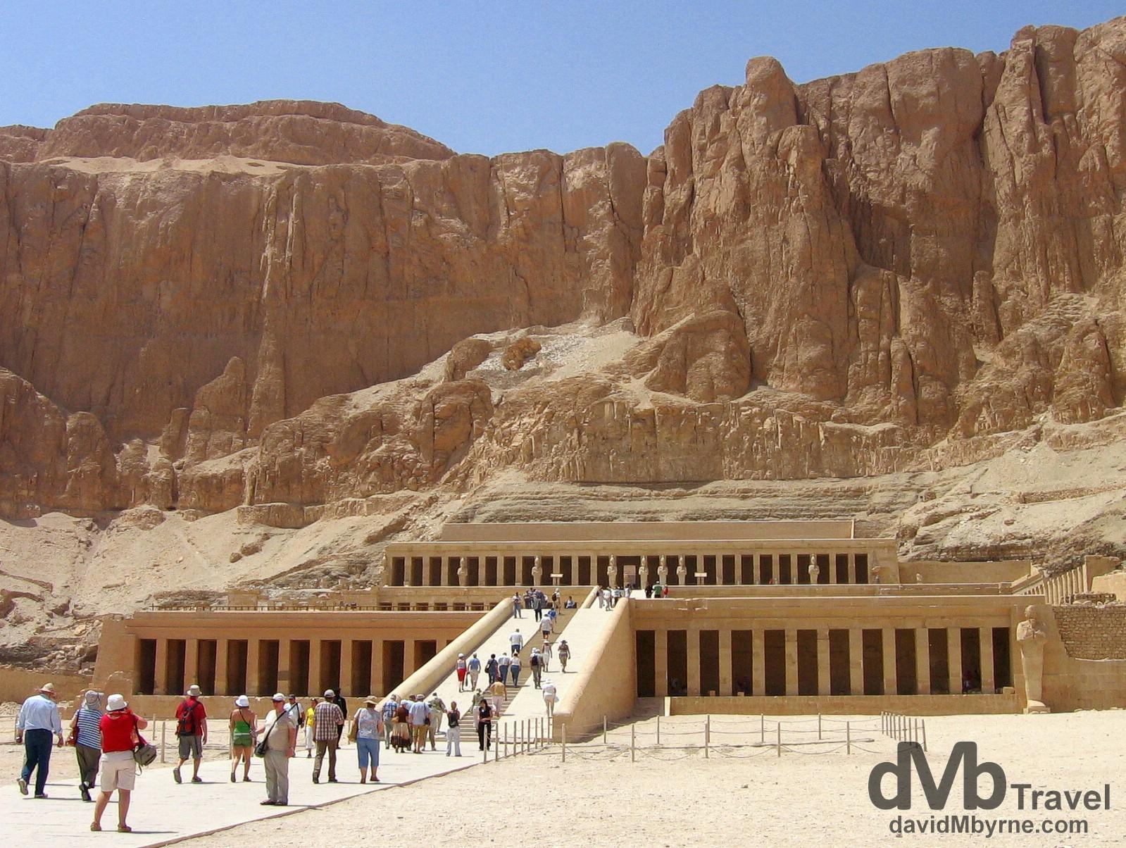 The Funerary Temple of Hatshepsut Luxor, Egypt
