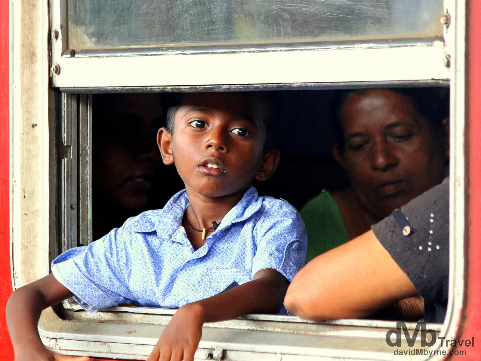 Waiting to depart Galle train station in southern Sri Lanka, August 31st 2012.