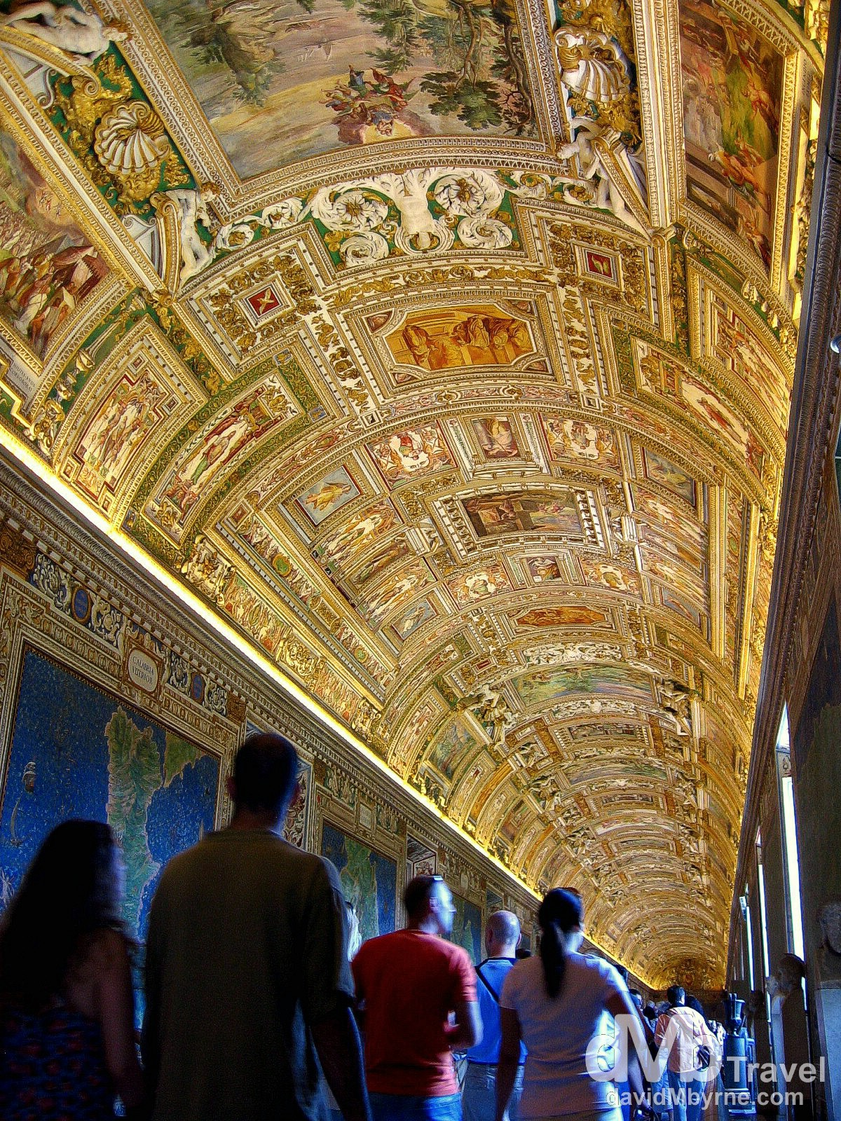 Galleria delle Carte Geografiche (Gallery of Maps), Vatican Museums, Vatican City