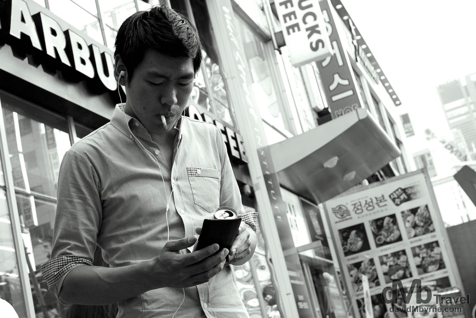 Gangnam-gu, Seoul, South Korea. July 8th 2012.