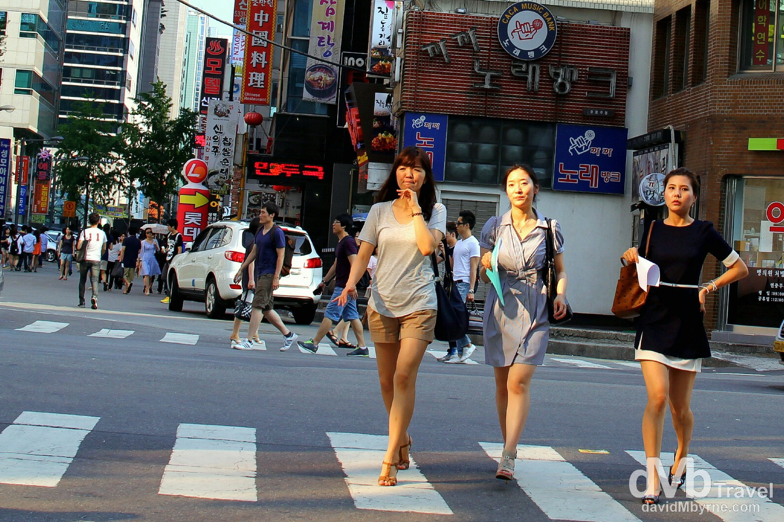 Gangnam-gu, Seoul, South Korea. July 8th 2012.