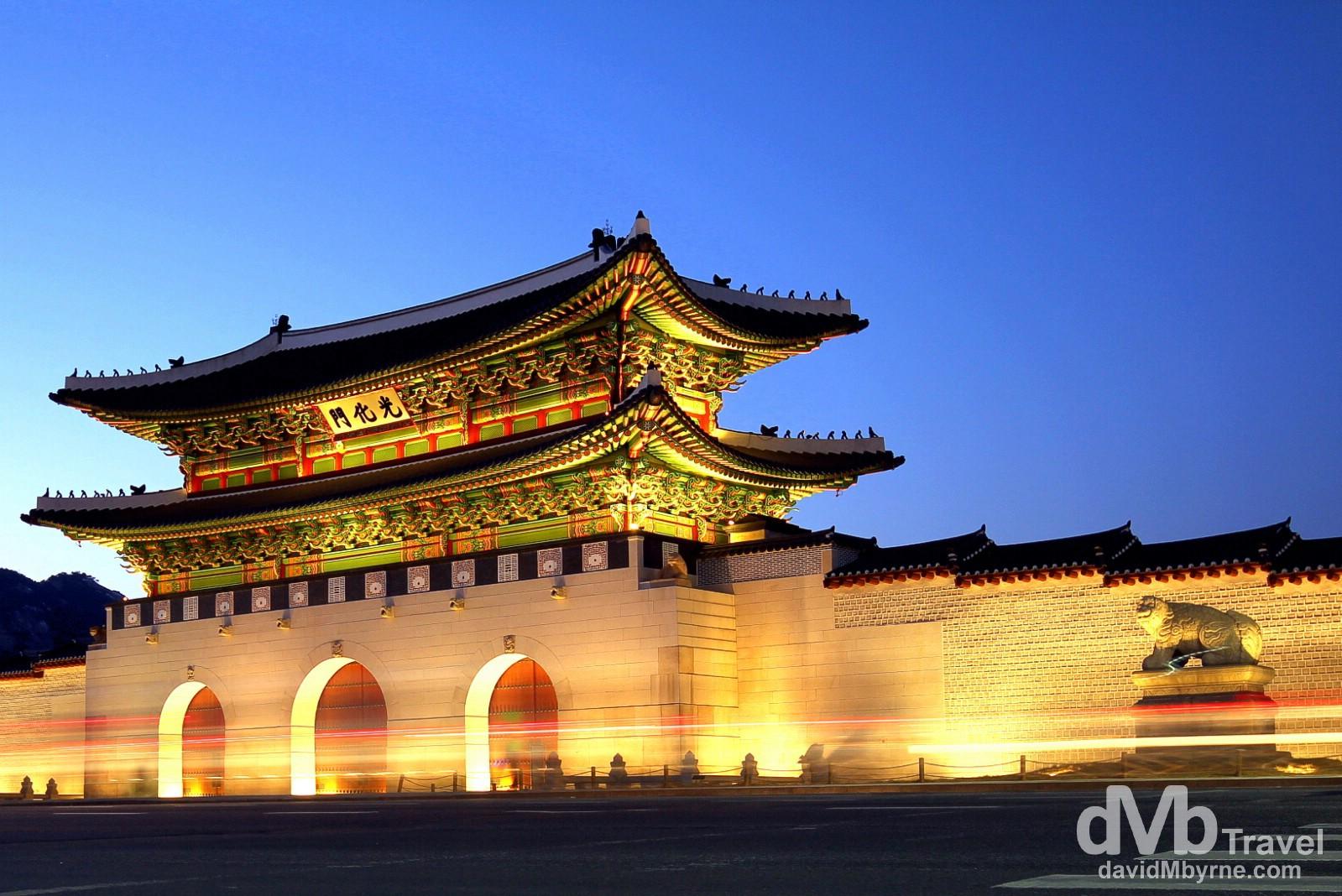 gwanghwamun gate seoul south korea worldwide destination photography insights. Black Bedroom Furniture Sets. Home Design Ideas