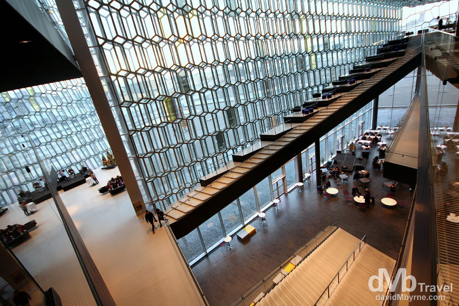 Harpa Concert Hall, Reykjavik, Iceland. December 1st 2012.