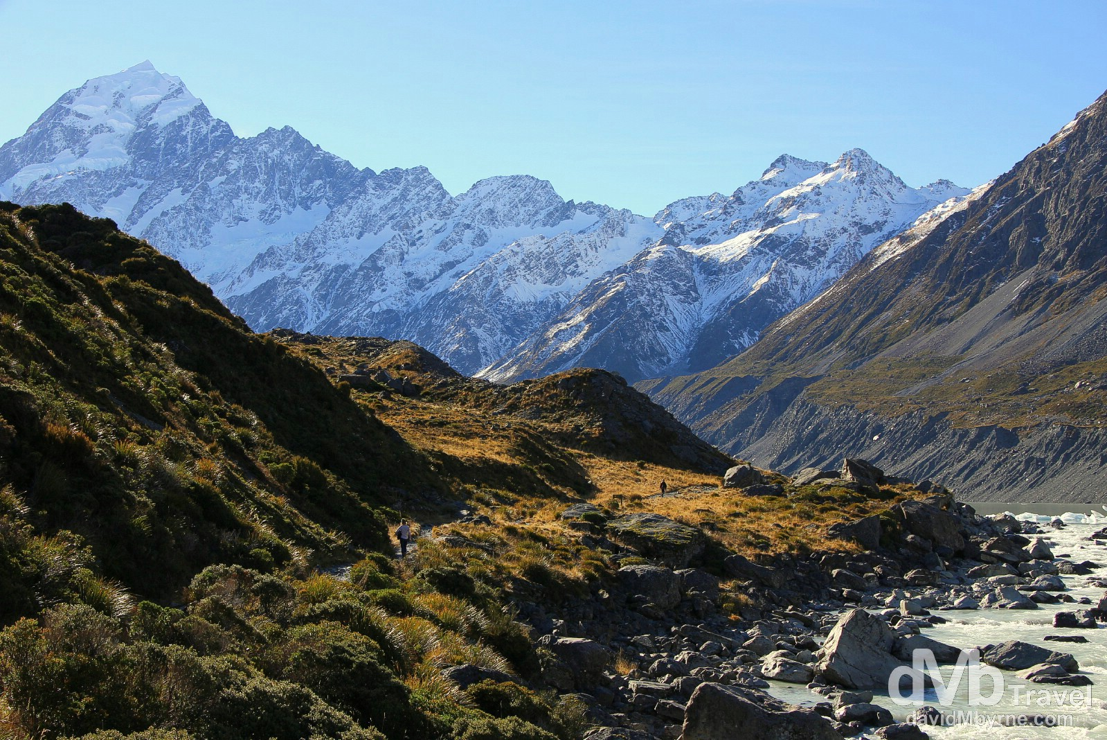 The Hooker Valley, Mount Cook National Park, South Island, New Zealand. May 31st 2012.