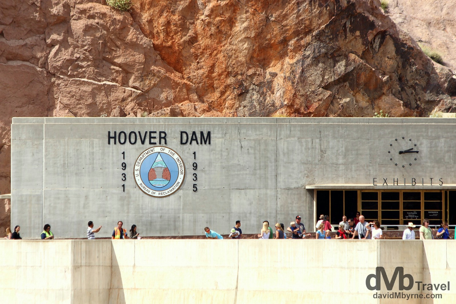 Hoover Dam, Nevada/Arizona, USA