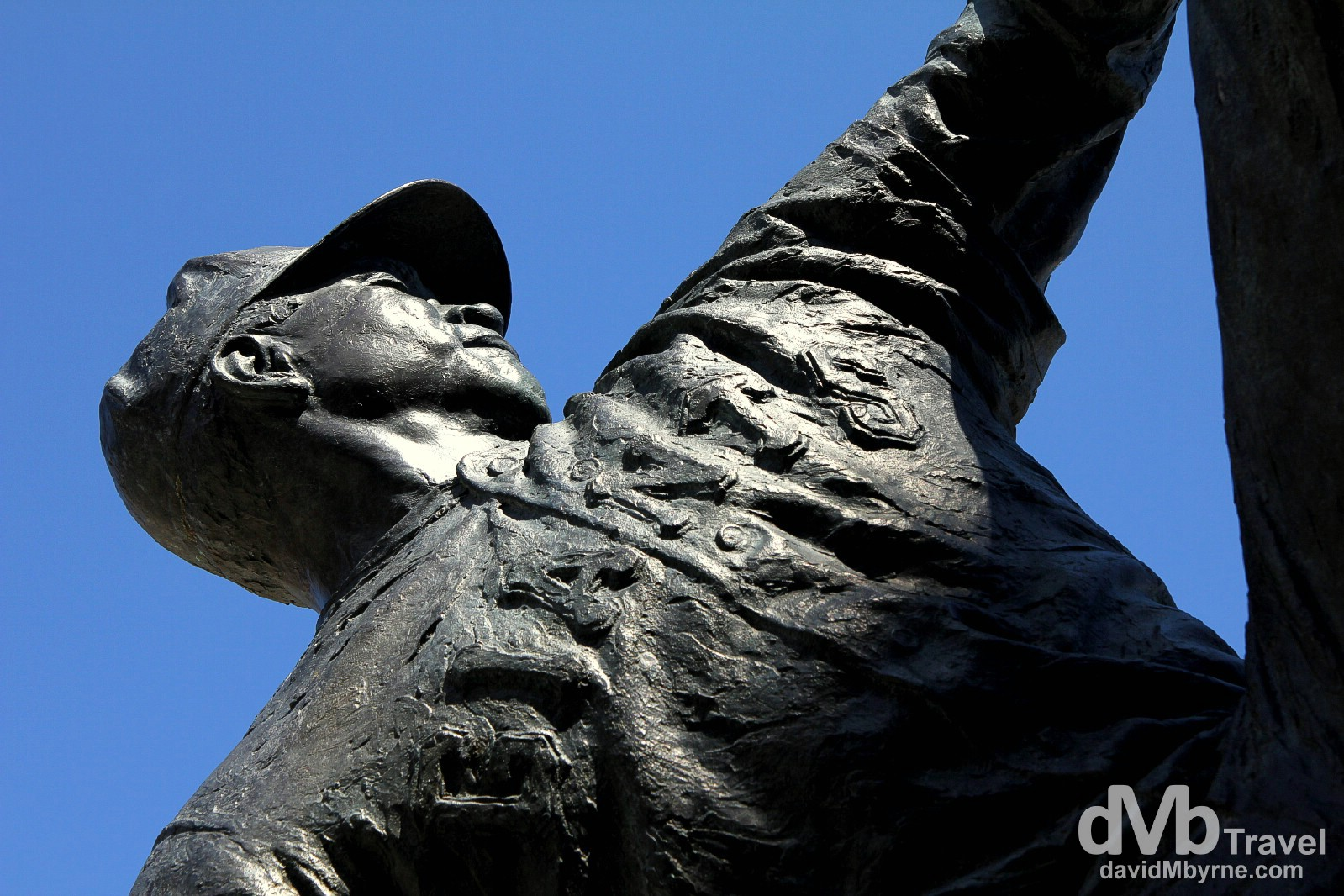 A Juan Marichal statue outside of AT&T Park, San Francisco, California, USA. March 30th 2013.