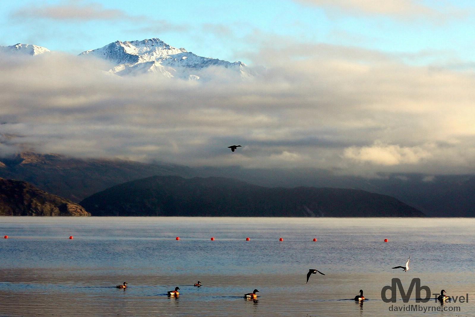 Lake Wanaka, Wanaka, South Island, New Zealand. May 21st 2012.